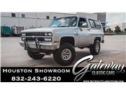 1987 Chevrolet K5 Blazer for sale in Houston, Texas 77090