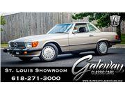 1987 Mercedes-Benz 560SL for sale in OFallon, Illinois 62269