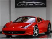 2014 Ferrari 458 Spider for sale in Burr Ridge, Illinois 60527