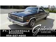 1987 Chevrolet El Camino for sale in Coral Springs, Florida 33065