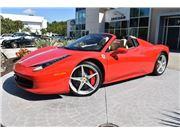 2012 Ferrari 458 Spider for sale in Naples, Florida 34102