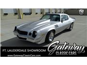1978 Chevrolet Camaro for sale in Coral Springs, Florida 33065