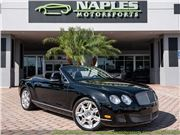 2011 Bentley Continental GT GTC Convertible for sale in Naples, Florida 34104