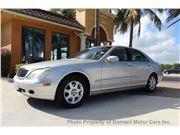 2001 Mercedes-Benz S-Class for sale in Deerfield Beach, Florida 33441