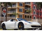 2014 Ferrari 458 Spider for sale in Naples, Florida 34104