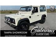 1988 Land Rover Defender for sale in Ruskin, Florida 33570