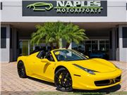 2013 Ferrari 458 Spider for sale in Naples, Florida 34104
