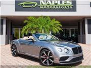 2016 Bentley Continental GT GTC V8 S Convertible for sale in Naples, Florida 34104