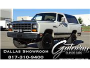 1985 Dodge RAMCHARGER AW-100 for sale in DFW Airport, Texas 76051
