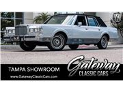 1986 Lincoln Town Car for sale in Ruskin, Florida 33570