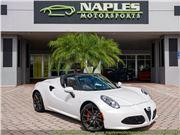 2019 Alfa Romeo 4C Spider for sale in Naples, Florida 34104