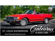 1985 Mercedes-Benz 380SL for sale in OFallon, Illinois 62269