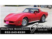 1981 Chevrolet Corvette for sale in Houston, Texas 77090