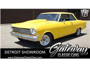 1963 Chevrolet Nova for sale in Dearborn, Michigan 48120