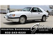 1986 Ford Mustang for sale in Houston, Texas 77090