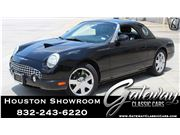 2002 Ford Thunderbird for sale in Houston, Texas 77090