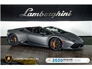 2017 Lamborghini Huracan LP610-4 Spyder for sale in Richardson, Texas 75080