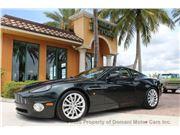 2003 Aston Martin Vanquish for sale in Deerfield Beach, Florida 33441