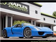 2015 Porsche 918 Spyder for sale in Naples, Florida 34104