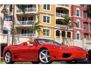 2001 Ferrari 360 Spider for sale in Naples, Florida 34104