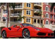2018 Ferrari 488 Spider for sale in Naples, Florida 34104