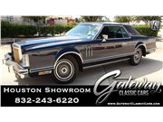 1979 Lincoln Continental Mark V for sale in Houston, Texas 77090