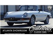 1990 Alfa Romeo Spider for sale in Alpharetta, Georgia 30005
