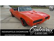 1969 Pontiac GTO for sale in Indianapolis, Indiana 46268