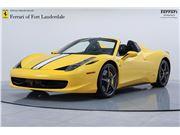 2015 Ferrari 458 Spider for sale in Fort Lauderdale, Florida 33308