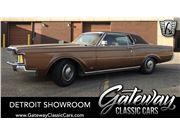 1971 Lincoln Continental for sale in Dearborn, Michigan 48120