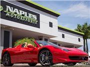 2013 Ferrari 458 for sale in Naples, Florida 34104