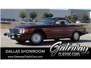 1986 Mercedes-Benz 560SL for sale in DFW Airport, Texas 76051