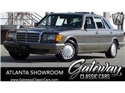 1988 Mercedes-Benz 420SEL for sale in Alpharetta, Georgia 30005