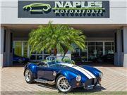 1965 Replica/Kit Backdraft Racing 302 Shelby Cobra Replica for sale in Naples, Florida 34104