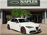 2018 Alfa Romeo Giulia Quadrifoglio for sale in Naples, Florida 34104