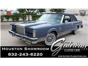 1983 Lincoln Continental for sale in Houston, Texas 77090