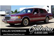 1990 Lincoln Town Car for sale in DFW Airport, Texas 76051