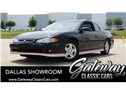 2002 Chevrolet Monte Carlo for sale in DFW Airport, Texas 76051