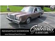 1987 Lincoln Town Car for sale in Indianapolis, Indiana 46268