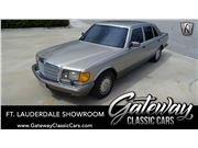 1991 Mercedes-Benz 560SEL for sale in Coral Springs, Florida 33065
