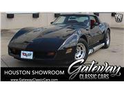 1982 Chevrolet Corvette for sale in Houston, Texas 77090
