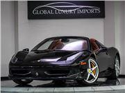 2014 Ferrari 458 Spider for sale in Burr Ridge, Illinois 60527