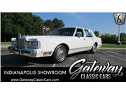 1985 Lincoln Town Car for sale in Indianapolis, Indiana 46268