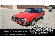 1983 Ford Mustang for sale in Dearborn, Michigan 48120