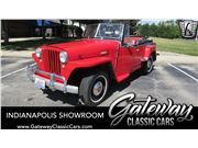 1949 Jeep Willys for sale in Indianapolis, Indiana 46268