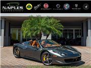 2012 Ferrari 458 Spider for sale in Naples, Florida 34104