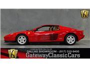 1988 Ferrari Testarossa for sale in DFW AIRPORT, Texas 76051