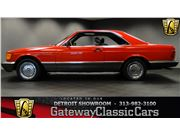 1984 Mercedes-Benz 500 SEC for sale in Dearborn, Michigan 48120
