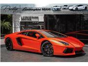 2015 Lamborghini Aventador for sale in North Miami Beach, Florida 33181
